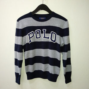 Polo Ralph Lauren Boy's Striped Sweater, M(10-12)